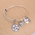 Lucky Star Charm Bangle - Florence Scovel - 4