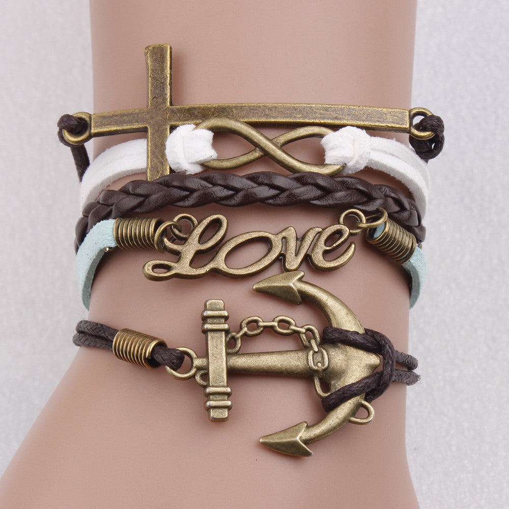 Cross Infinity Love Anchor - Florence Scovel - 1