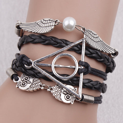 Black Deathly Hallows Bracelet - Florence Scovel - 1
