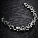 Green Emerald Exquisite Bracelet - Florence Scovel - 4