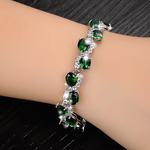 Green Emerald Exquisite Bracelet - Florence Scovel - 5