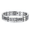 Maze Men's Stainless Steel Bracelet - Florence Scovel - 1