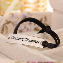 Mother Love Daughter Leather Strap Bracelet - Florence Scovel - 3