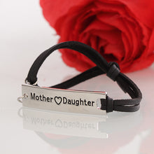 Mother Love Daughter Leather Strap Bracelet - Florence Scovel - 4