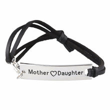 Mother Love Daughter Leather Strap Bracelet - Florence Scovel - 5