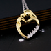 Mother Baby Love Heart Pendant - Florence Scovel - 2