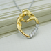 Mother Baby Love Heart Pendant - Florence Scovel - 3