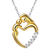 Mother Baby Love Heart Pendant - Florence Scovel - 1