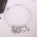 Music Note Charm Bangle - Florence Scovel - 5