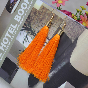 Long Fib Tassel  Earring - Florence Scovel - 6