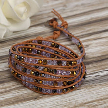 Purple Gold Wrap Bracelet - Florence Scovel - 2