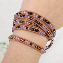 Purple Gold Wrap Bracelet - Florence Scovel - 3