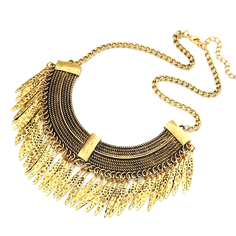 Sky Panther Statement Necklace - Florence Scovel