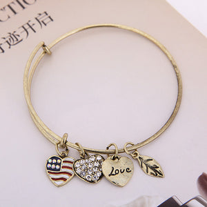 Patriot Love Charm Bangle - Florence Scovel - 7
