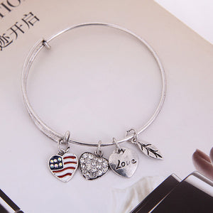 Patriot Love Charm Bangle - Florence Scovel - 5