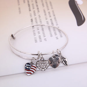 Patriot Love Charm Bangle - Florence Scovel - 6