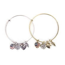 Patriot Love Charm Bangle - Florence Scovel - 3