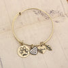 Paw Print Charm Bangle - Florence Scovel - 4