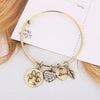 Paw Print Charm Bangle - Florence Scovel - 5