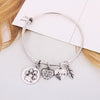 Paw Print Charm Bangle - Florence Scovel - 7