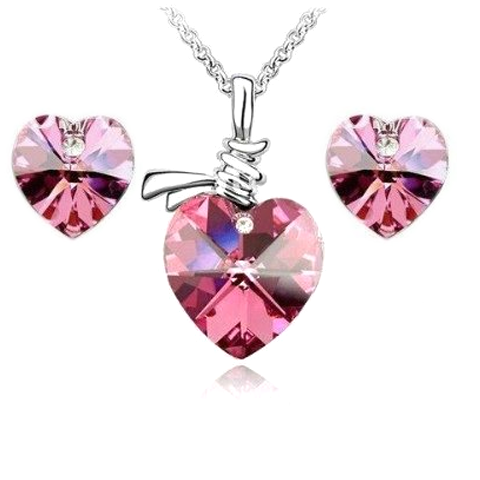 Diamond Heart Necklace - Florence Scovel - 1