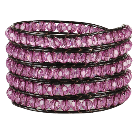Pink Kitty Wrap Bracelet - Florence Scovel
