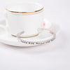 Positive Mind Positive Vibe Positive Life Cuff Bangle - Florence Scovel - 5