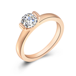 Simple Love Promise Ring - Florence Scovel