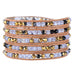 Purple Gold Wrap Bracelet - Florence Scovel - 1