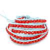 Red Gem Wrap Bracelet - Florence Scovel - 2