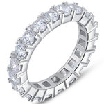 Luxury Crystal Eternity Ring - Florence Scovel - 1