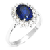 Sapphire Bold Ring - Florence Scovel - 4