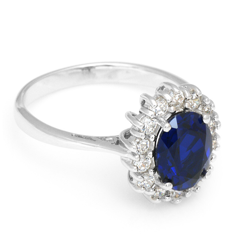 Sapphire Bold Ring - Florence Scovel - 1