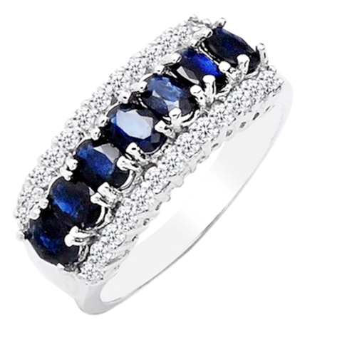 Sapphire Unisex Soul Ring - Florence Scovel