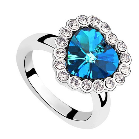 Sapphire Heart Ring - Florence Scovel