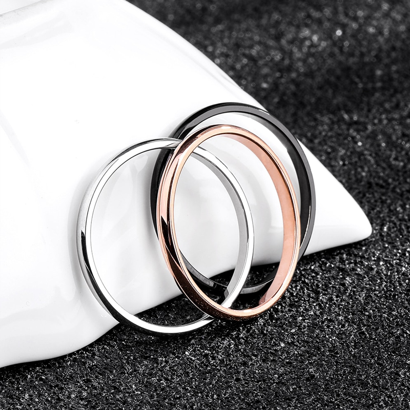 Titanium Couple Everyday Wedding Ring