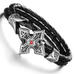 Ruby Cross Men's Bracelet - Florence Scovel - 2