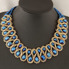 Big Choker Double Bead Necklace - Florence Scovel - 2