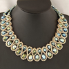 Big Choker Double Bead Necklace - Florence Scovel - 3