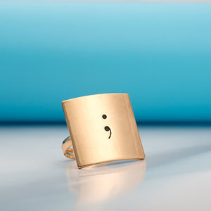 Semicolon Adjustable Ring - Florence Scovel - 3