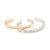 Shine Bright Like A Diamond Cuff Bangle - Florence Scovel - 1