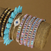 Beautiful Colourful Mess Wrap Bracelet - Florence Scovel - 4