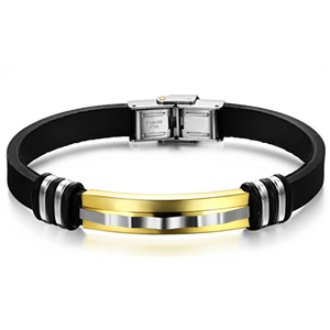 Zap Stainless Steel Men's Bracelet - Florence Scovel - 1