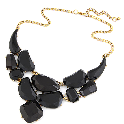Bold Stone Statement Necklace - Florence Scovel - 4