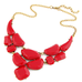 Bold Stone Statement Necklace - Florence Scovel - 1