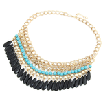 Traditional Statement Necklace - Florence Scovel - 2