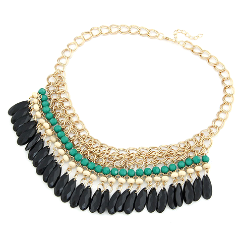 Traditional Statement Necklace - Florence Scovel - 1