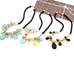 Rain Drop Statement Necklace - Florence Scovel - 3