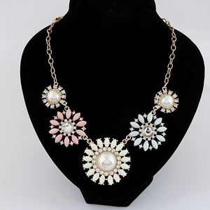 Floral Classic Statement Necklace - Florence Scovel - 2