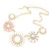 Floral Classic Statement Necklace - Florence Scovel - 1